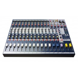 SOUNDCRAFT - MIXER 12 CANALES + FX