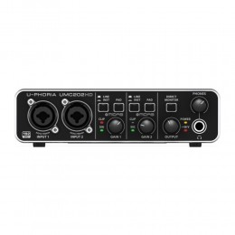 UMC202HD U-PHORIA Interfaz de Audio USB
