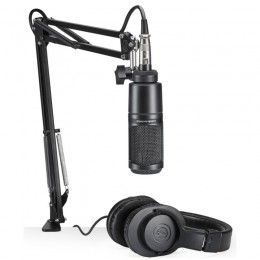 Audio-Technica AT2020PK - Pack streaming/podcasting