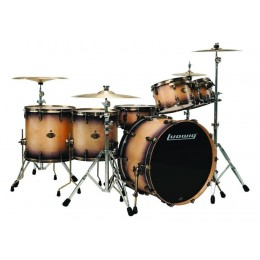 LUDWIG - EPIC SHELL PACK 6 PIEZAS